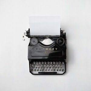 Typewriter by Florian Klauer-sq