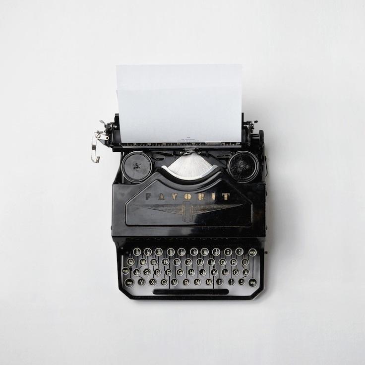 Typewriter by Florian Klauer-sq