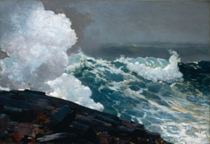 Northeaster, by Winslow Homer (1895)